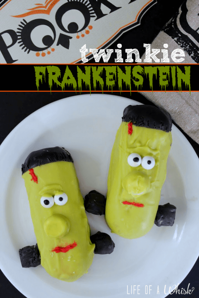 Twinkie Frankenstein | Halloween Party Food Ideas | Halloween Party Themes For Adults