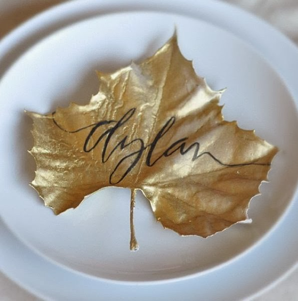 Fallen dried leaves | Thanksgiving Gifts Kids Can Make - FarmFoodFamily.com