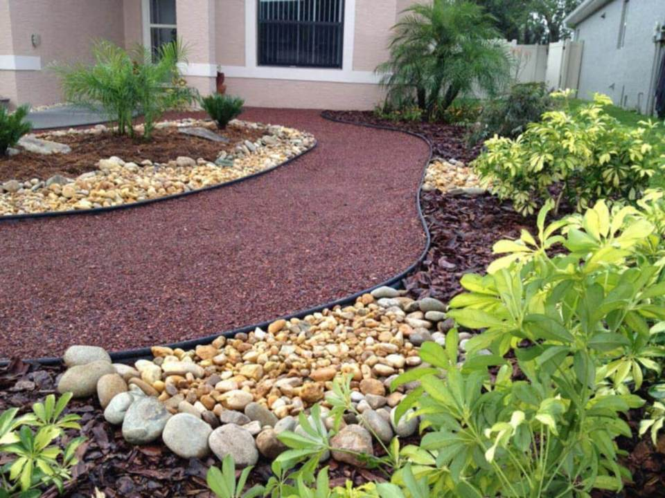 44+ Best Landscaping Design Ideas Without Grass 2020 ... on Backyard Ideas Without Grass  id=63109