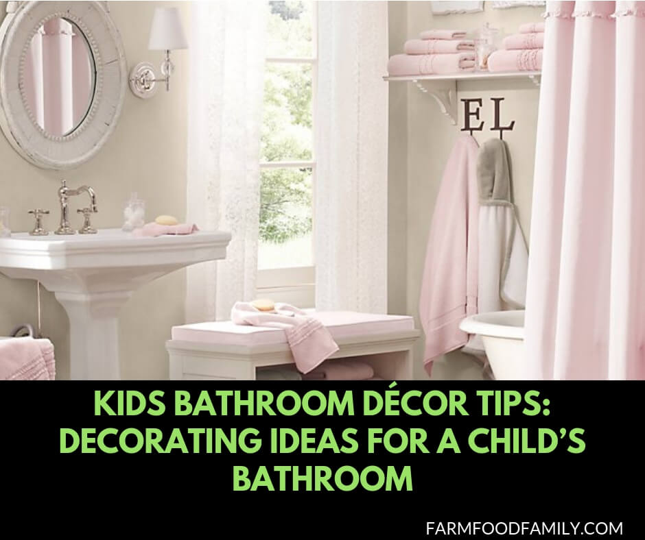 Kids Bathroom Décor Tips: 45 Decorating Ideas for a Child\'s ...