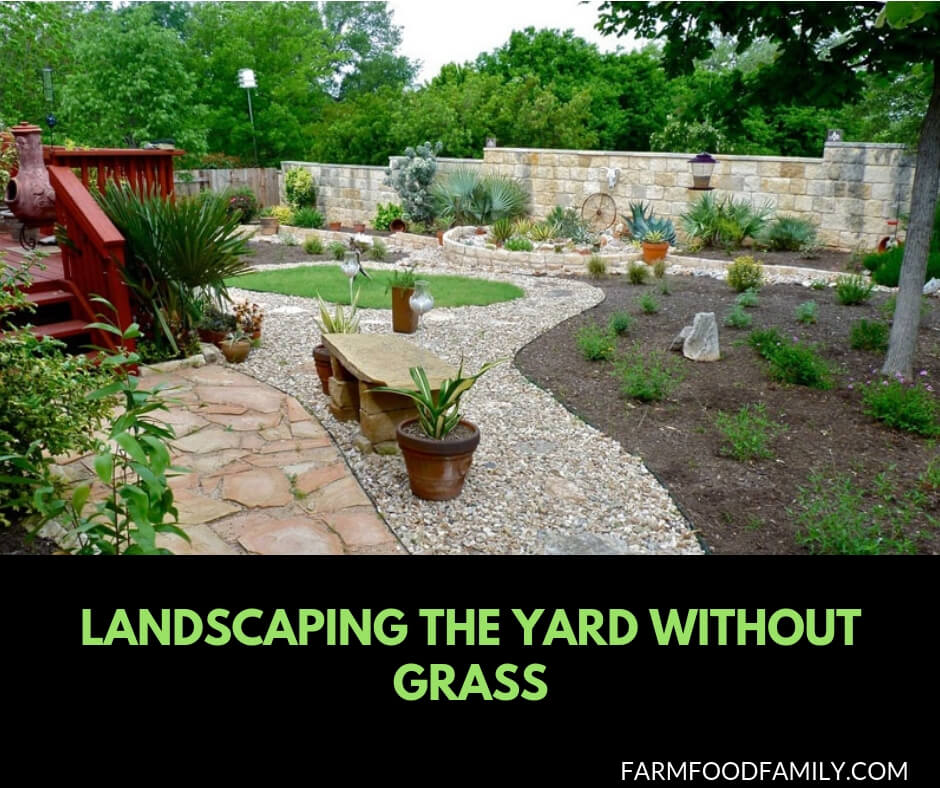 44+ Best Landscaping Design Ideas Without Grass 2020 ... on No Lawn Garden Ideas  id=36622