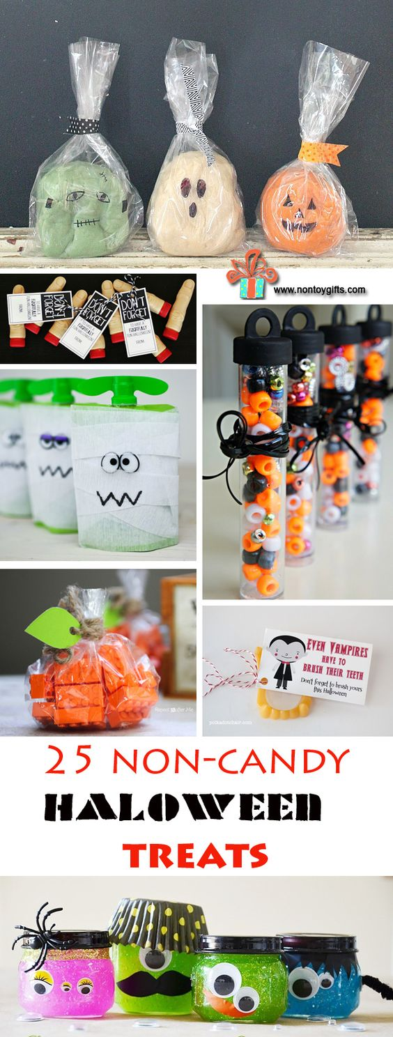 Non candy Halloween treats | How to Have a Green Halloween: Ideas to Make This Halloween More Eco-Friendly