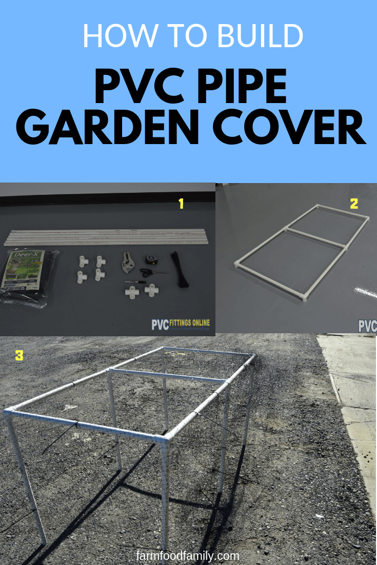 How to Build a PVC Pipe Garden Cover