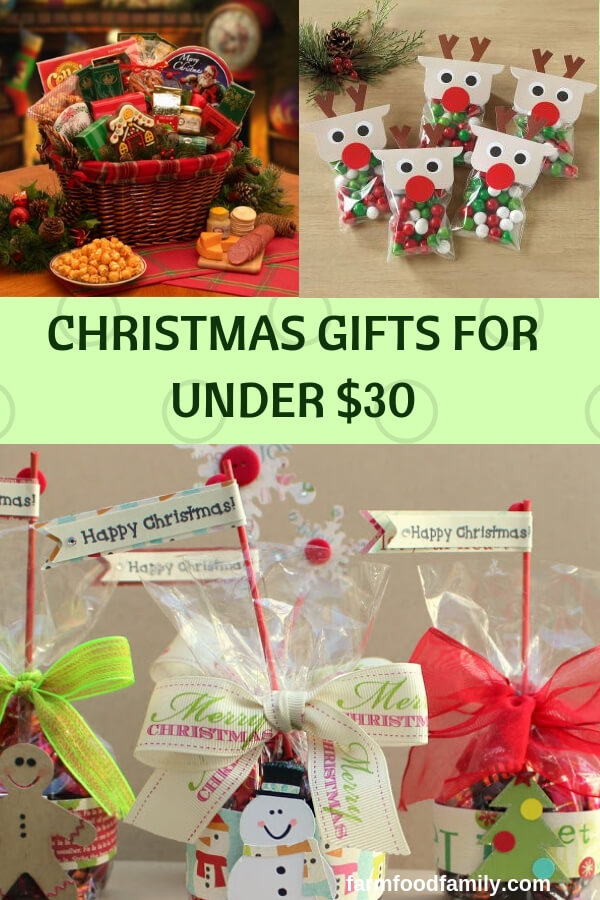 sc 1 st  Farm.Food.Family & Christmas Gifts for Under $30: Creative Holiday Presents on a Budget