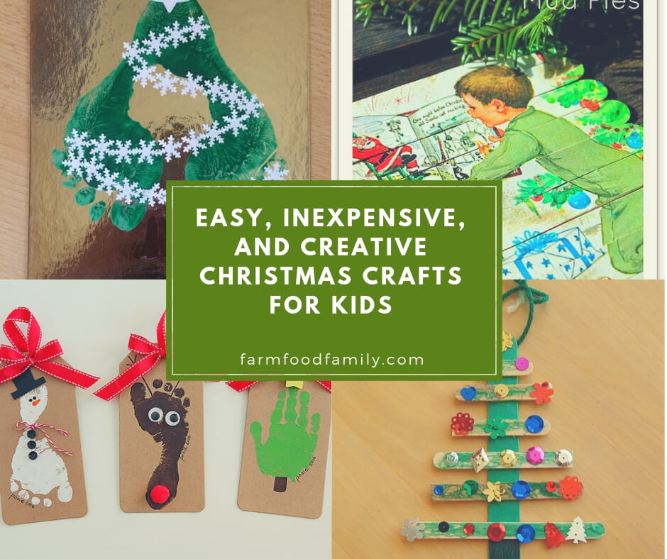 15 Easy Inexpensive And Creative Christmas Crafts For Kids For 2020