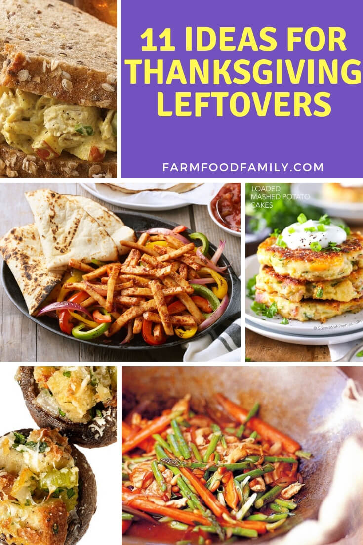 Ideas For Thanksgiving Leftovers