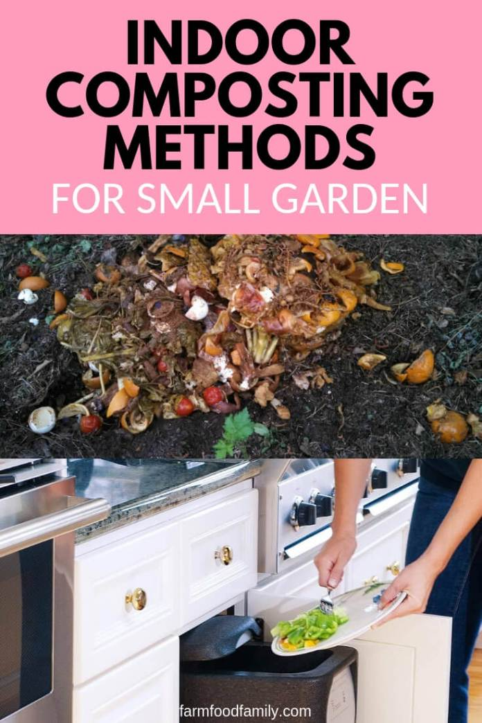 Indoor Composting Methods For the Home Garden in a Small Space