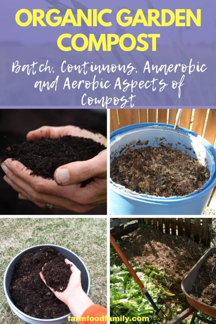 Organic Garden Compost (Batch, Continuous, Anaerobic and Aerobic Aspects of Compost)