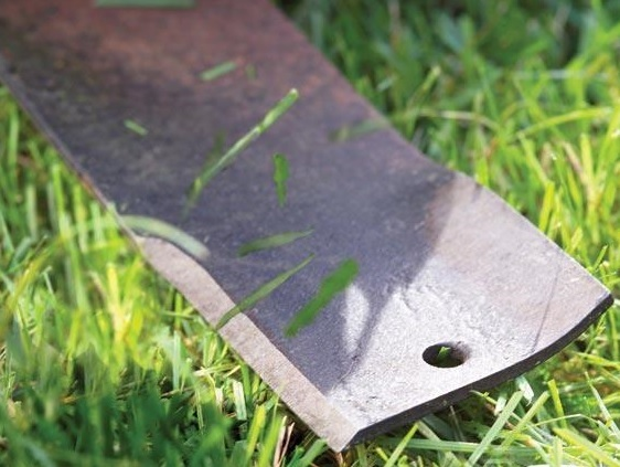 Sharpen the Mower Blades