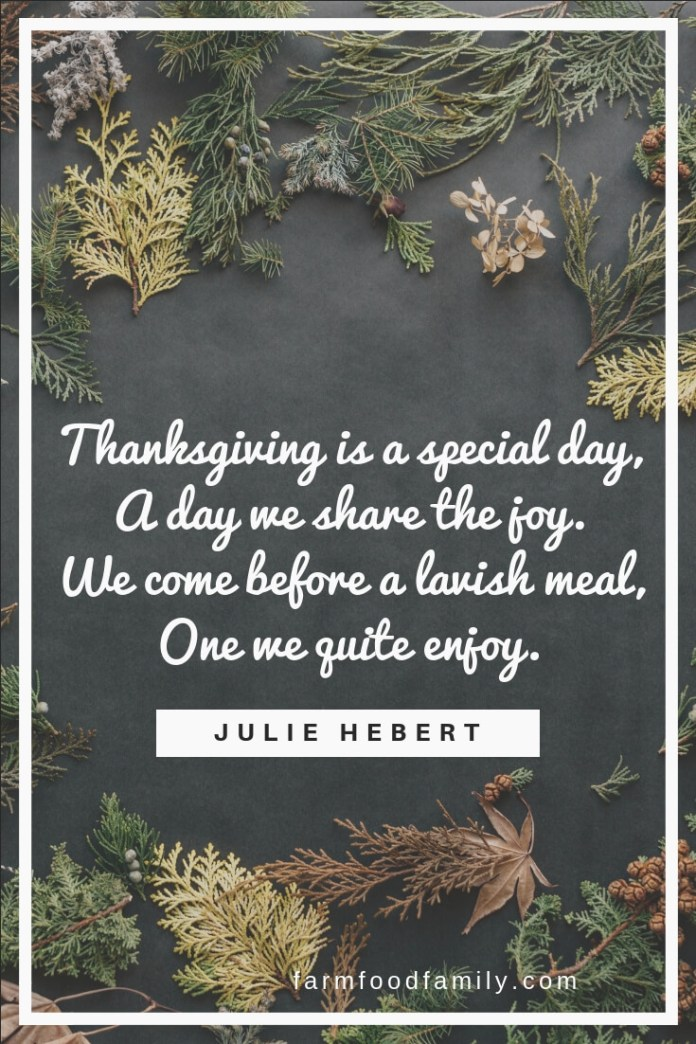 thanksgiving sayings short
