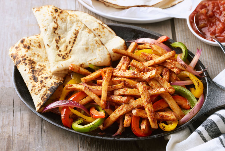 Turkey Fajitas | Ideas For Thanksgiving Leftovers | FarmFoodFamily.com