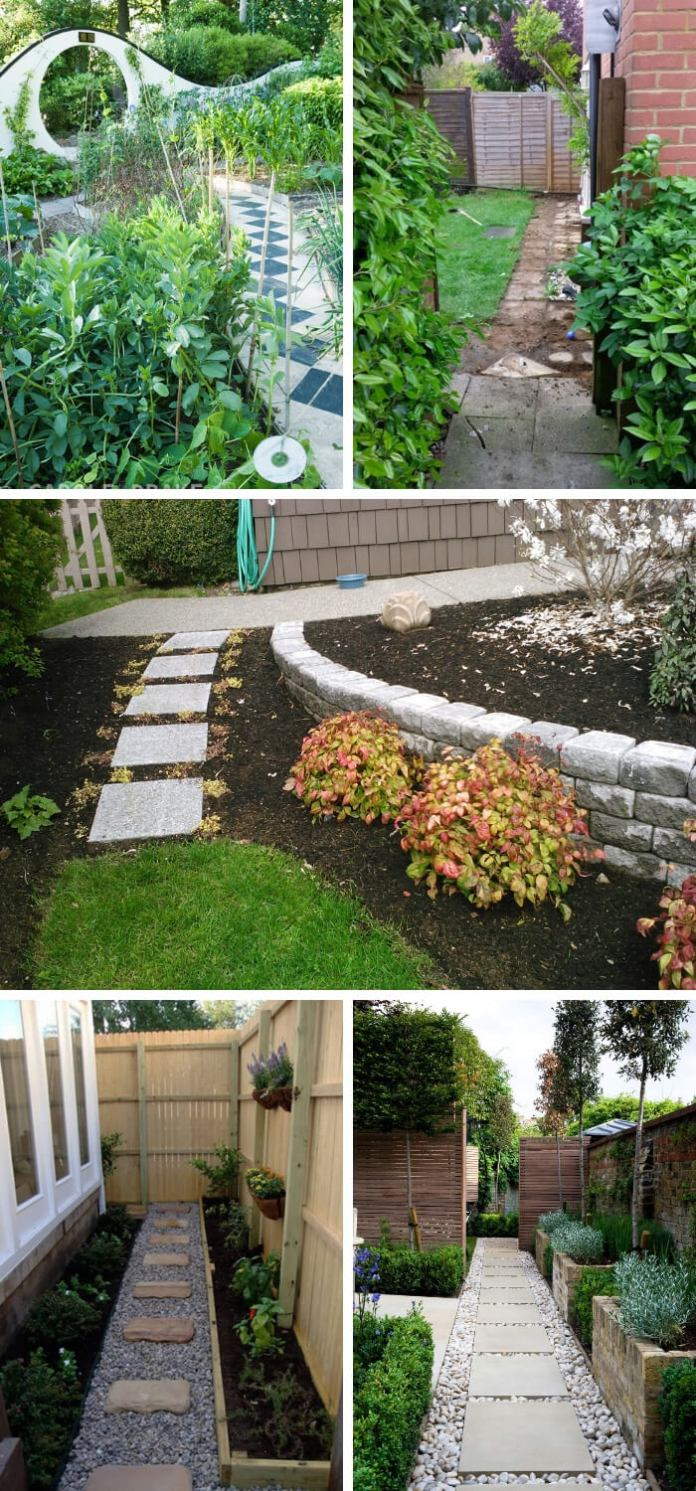 Design Style for Garden Walls and Pathways