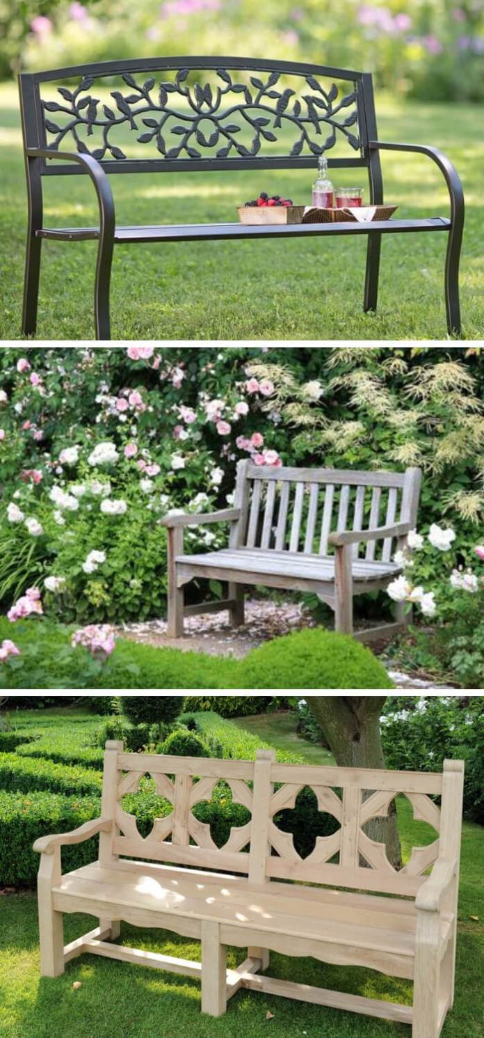 The Right Bench for Your Garden Design Style