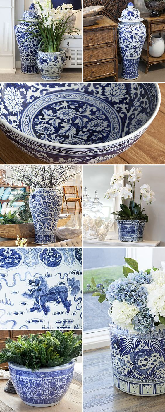 Home Decorating Ideas With Flowers: Mason jars and antique floral china