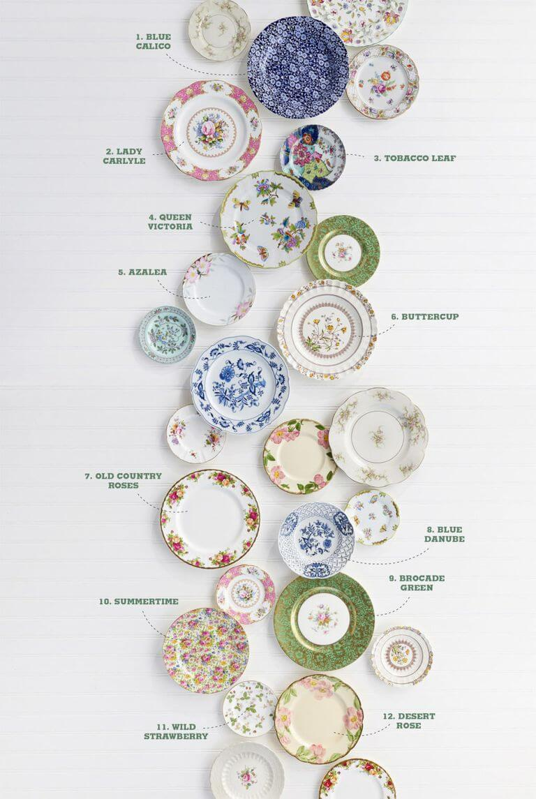 Home Decorating Ideas With Flowers: Antique Floral China Patterns