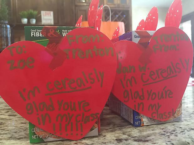 Ideas for Kids' Craft Projects – Homemade Valentine's Day Cards   Cerealsy Cute DIY Valentine Cards