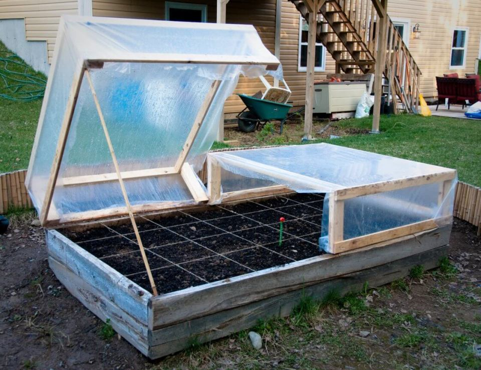 When and How to Place Cover Over Cold Frame