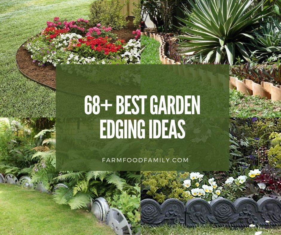 68+ Creative & Cheap Garden Edging Ideas That Will Transform Your Yard