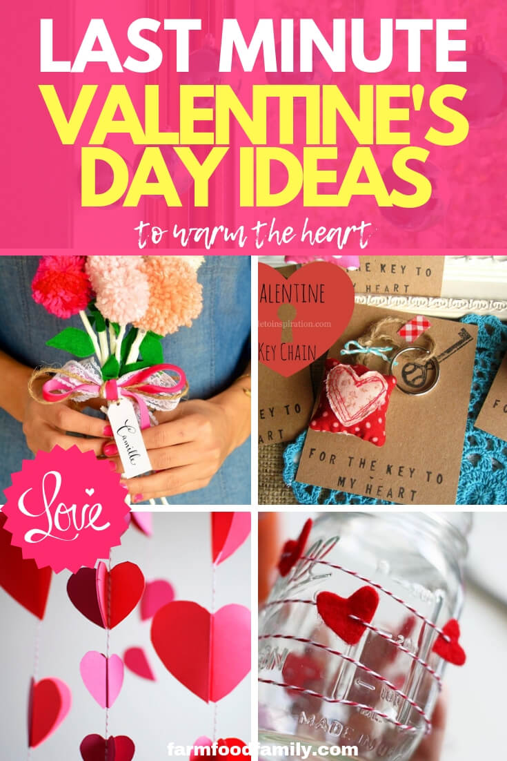 Last minute Valentine's day ideas