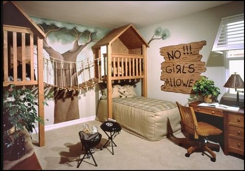 Bugs, Frogs, Animals | Cool Bedroom Ideas For Boys