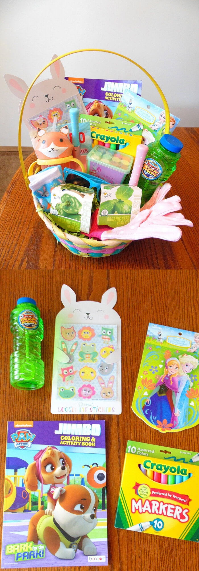 Easter Basket Ideas For Toddlers, Babies