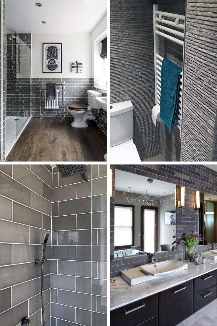 Grey Bathroom Tile Ideas 8 | Bathroom Tile Design: Ideas for Incorporating Tile into the Bathroom Design