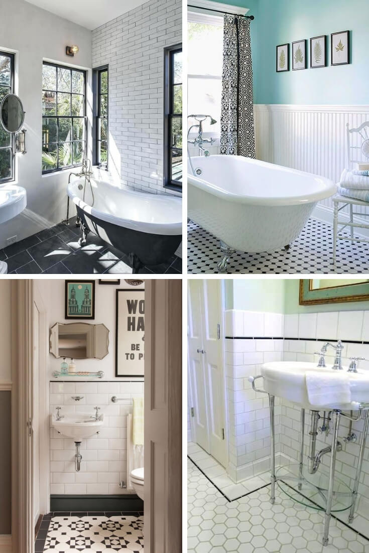 Vintage Bathroom Tile Ideas 3 | Bathroom Tile Design: Ideas for Incorporating Tile into the Bathroom Design