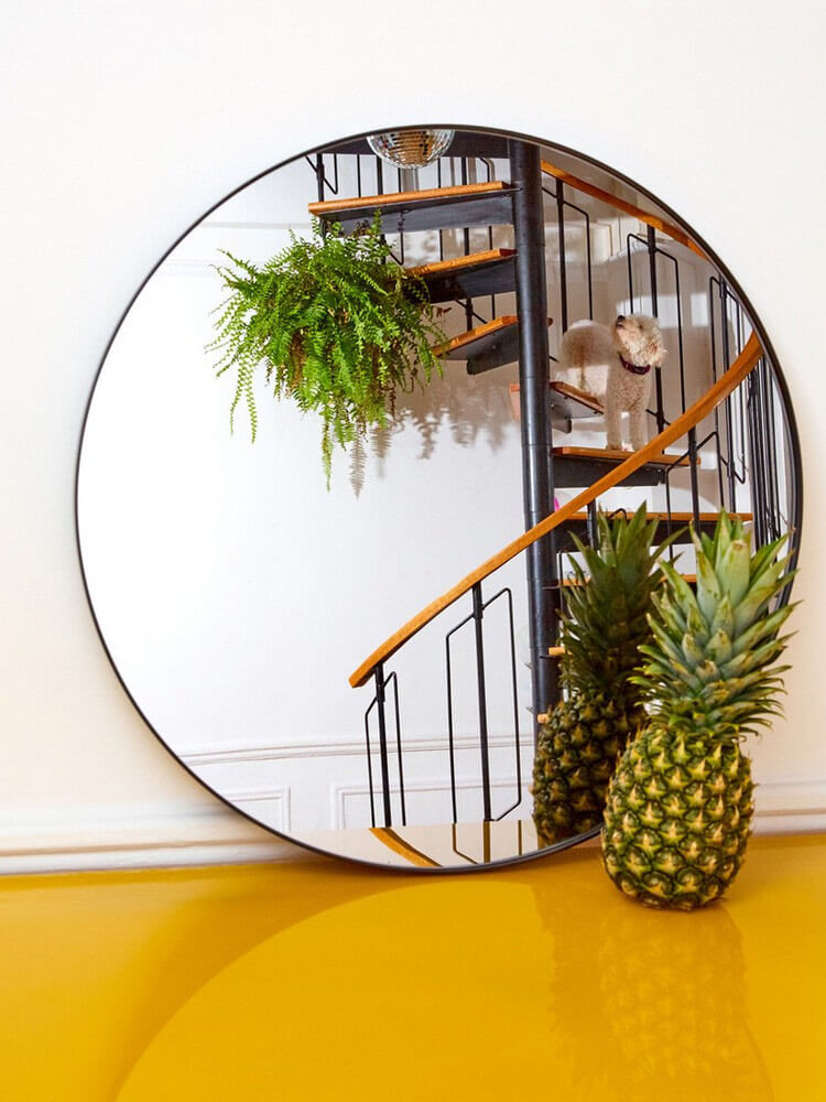 Oversized mirror | Best Entryway Mirror Decor Ideas