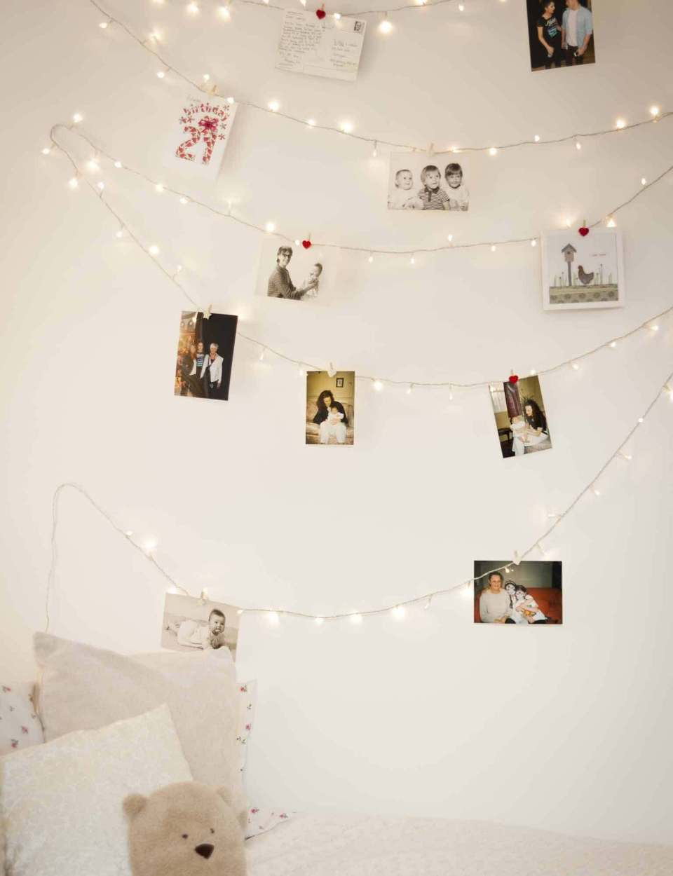 Family snaps | Best Fairy Light Decoration Ideas