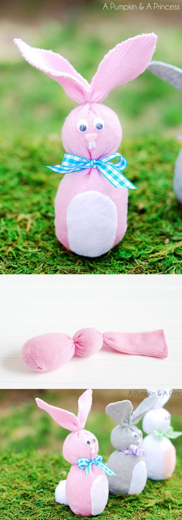 Sock Bunny | Easy & Fun Easter Crafts For Kids