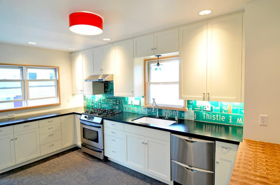inadequate cabinet and counter space | Best White Kitchen Cabinet Decor Ideas