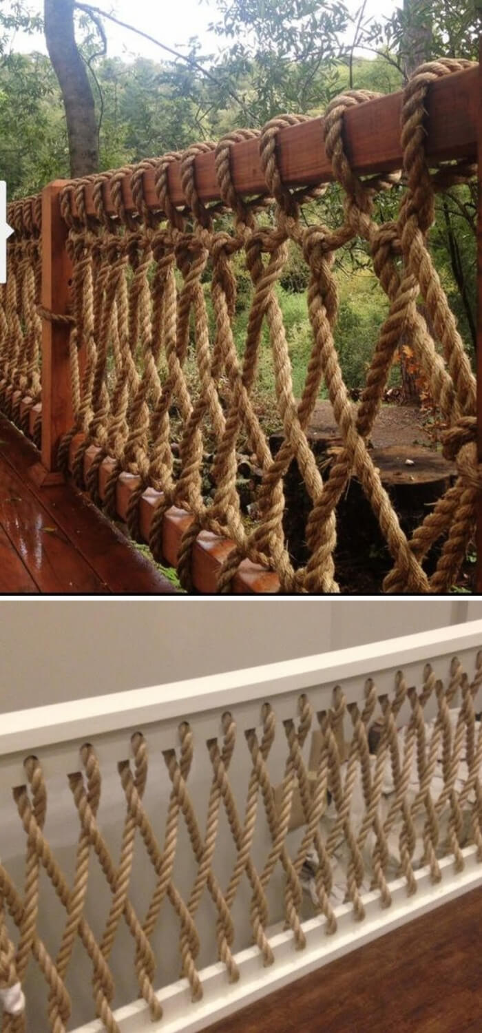 30+ Awesome DIY Deck Railing Designs & Ideas For 2019