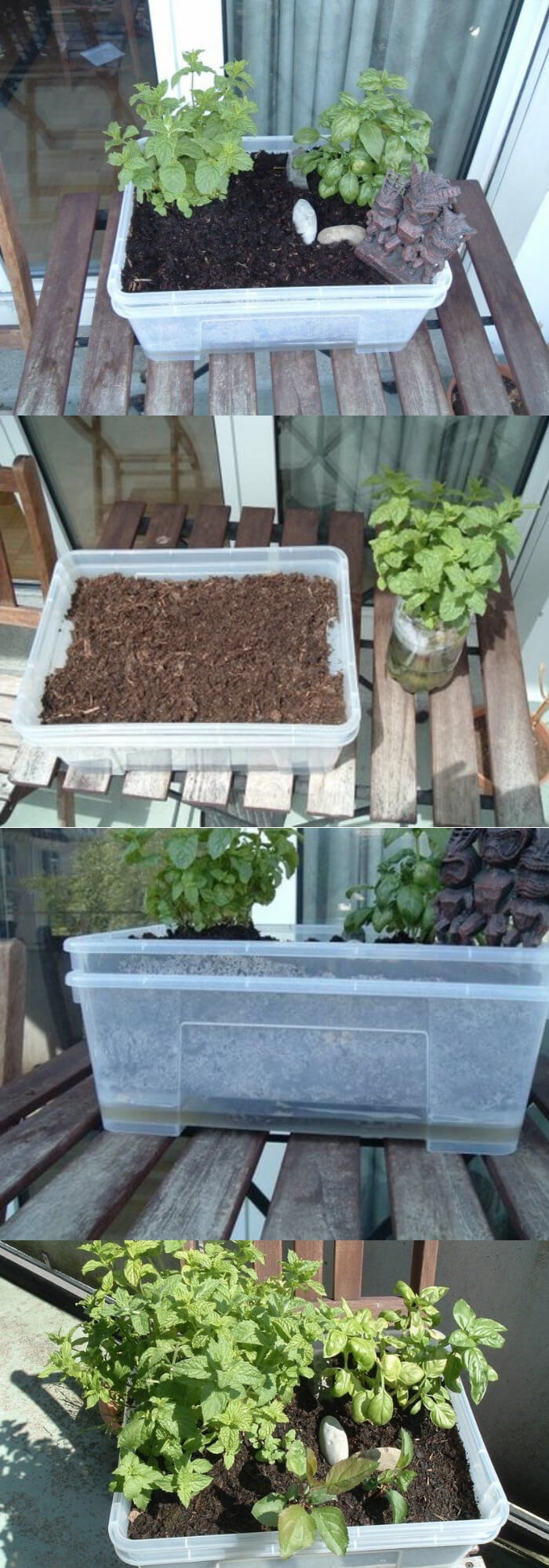 Self Watering Mini Garden | Best DIY Self-Watering System Ideas