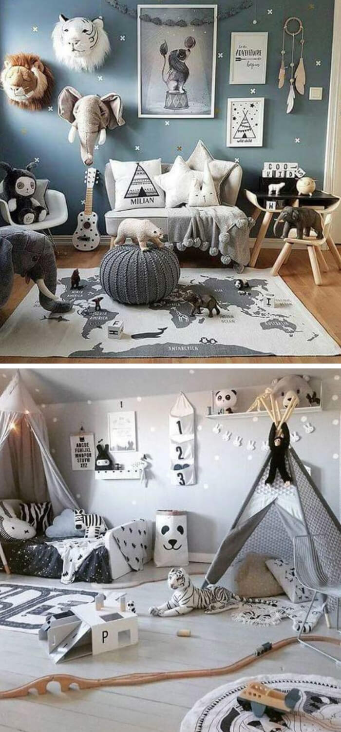 Animal theme | Cool Bedroom Ideas For Boys