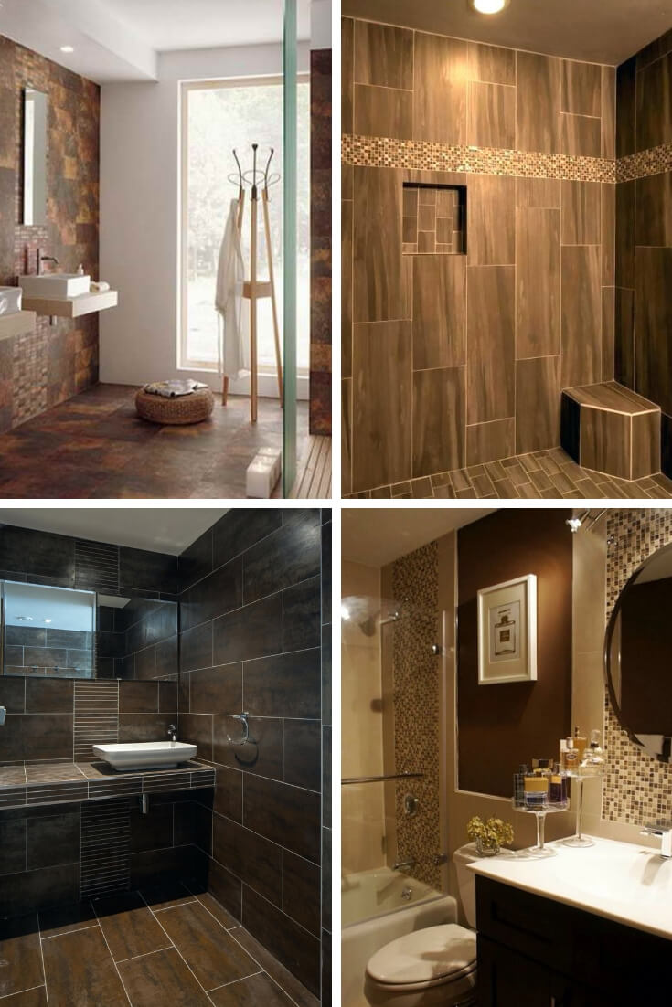 Brown Bathroom Tile Ideas 2 | Bathroom Tile Design: Ideas for Incorporating Tile into the Bathroom Design