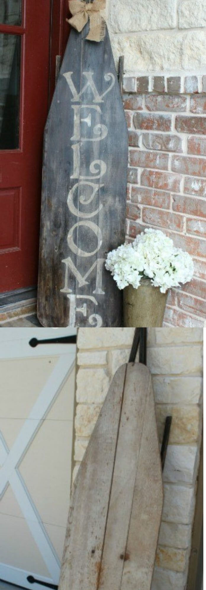Ironing Board Welcome Sign | Best Spring Porch Sign Decor Ideas & Designs