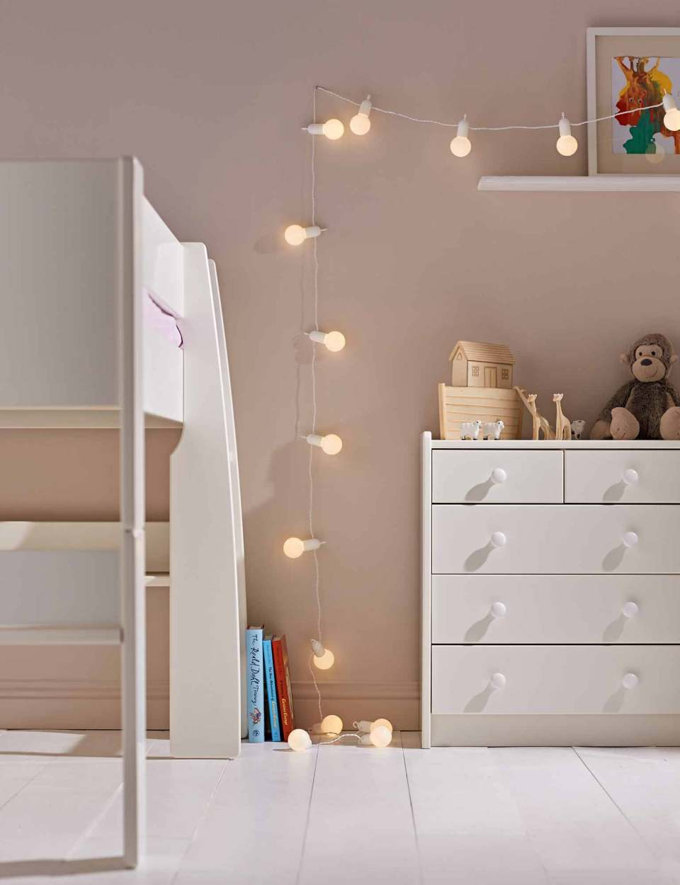 Festoon light children's room | Best Fairy Light Decoration Ideas
