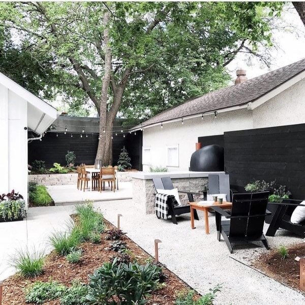 concrete backyard patio ideas