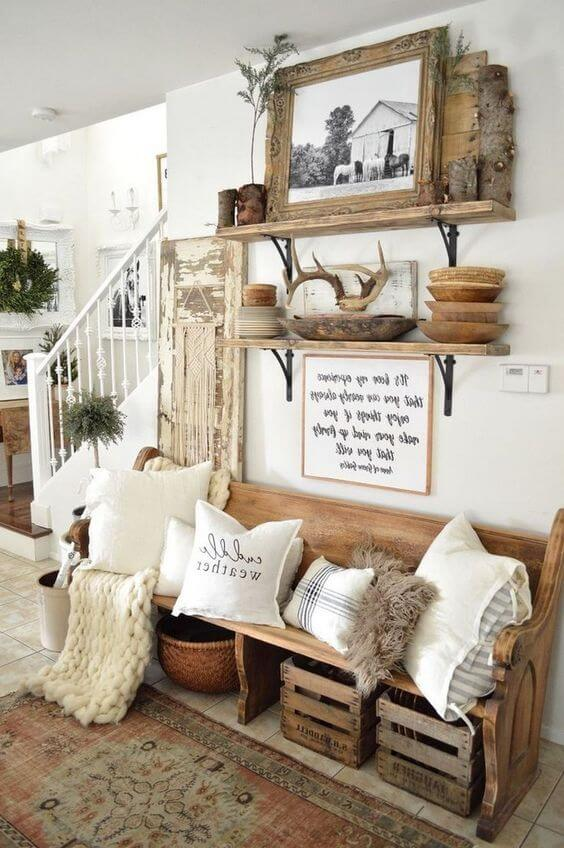 Best Farmhouse Living Room Decor & Design Ideas 17