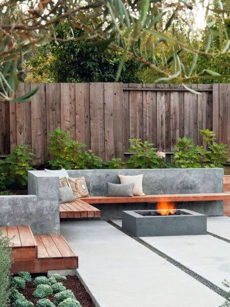 unique concrete patio ideas