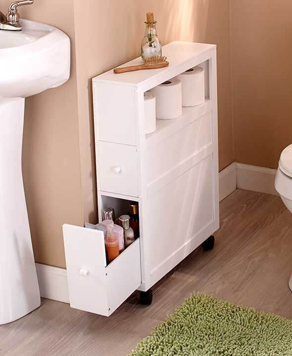 51+ Best Small Bathroom Storage Designs & Ideas For 2020