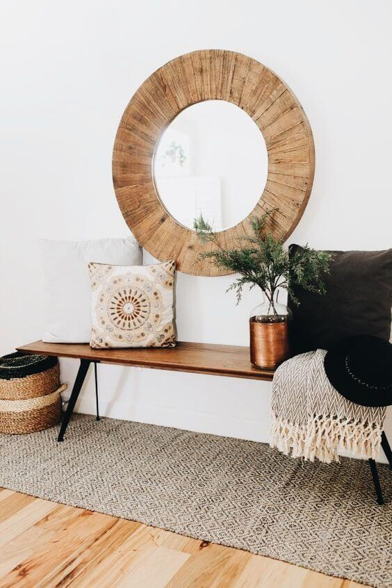 Boho Entryway Decor | Best Entryway Mirror Decor Ideas