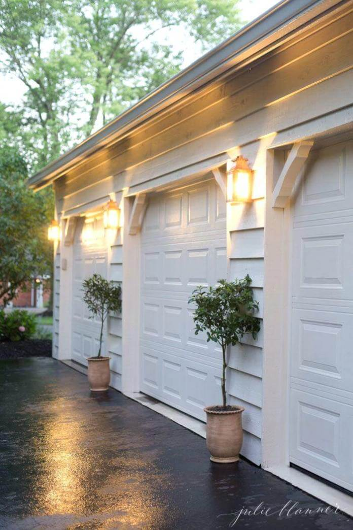 Exterior garage lighting ideas | Best Garage Lighting Designs & Ideas
