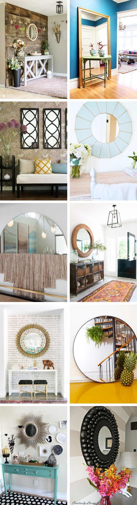Best Entryway Mirror Decor Ideas 6