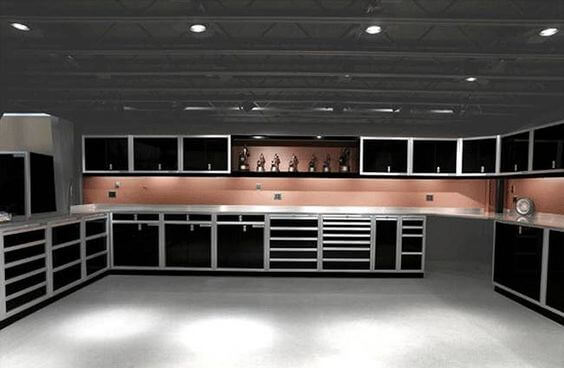 Urban and Contemporary Led Garage Lighting Ideas | Best Garage Lighting Designs & Ideas