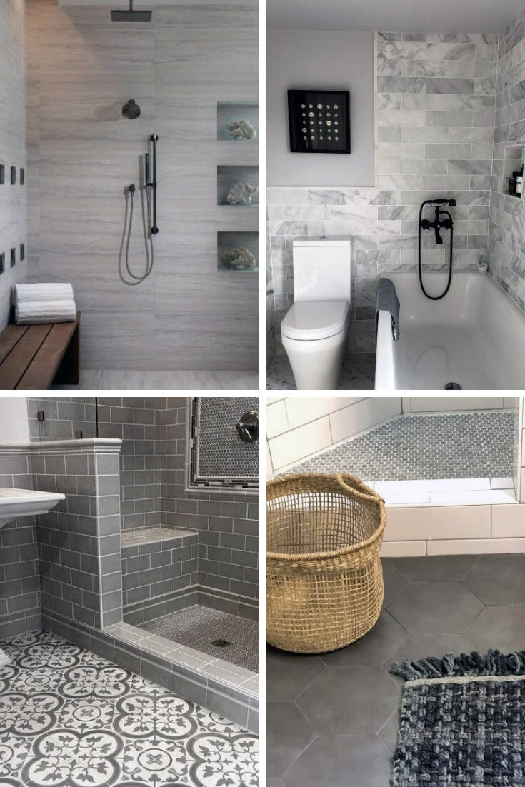 Grey Bathroom Tile Ideas 5 | Bathroom Tile Design: Ideas for Incorporating Tile into the Bathroom Design