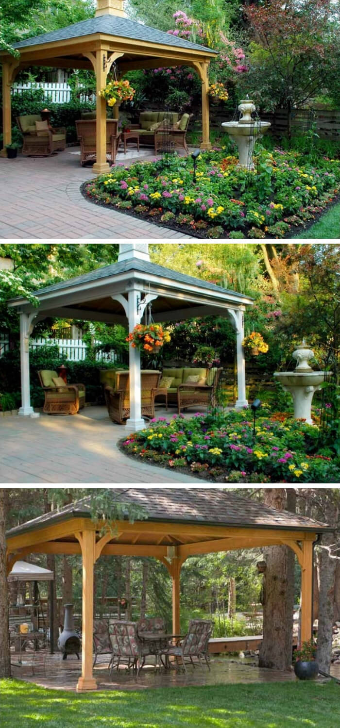Ramadas Backyard Pavilion ideas