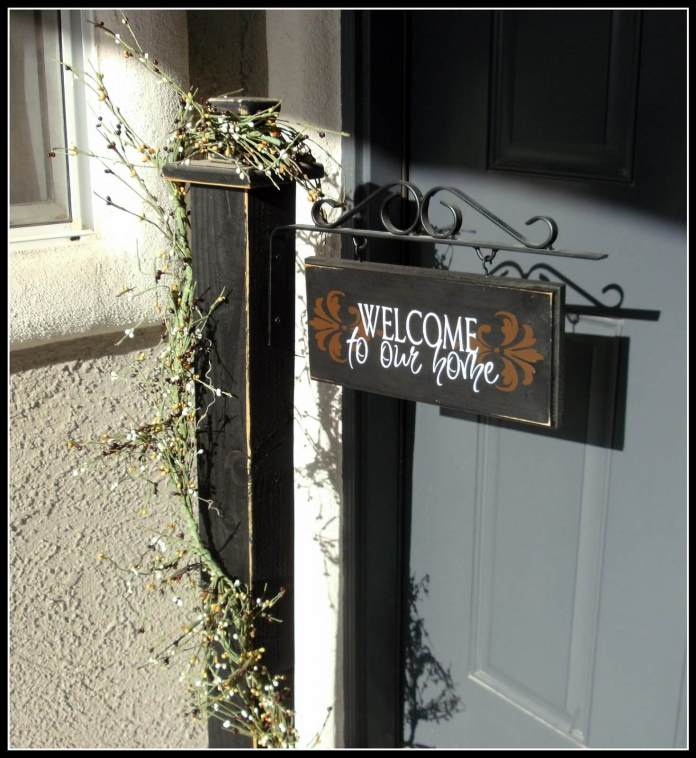 Crafty Girls Workshop Front Porch Make Over For Spring | Best Spring Porch Sign Decor Ideas & Designs