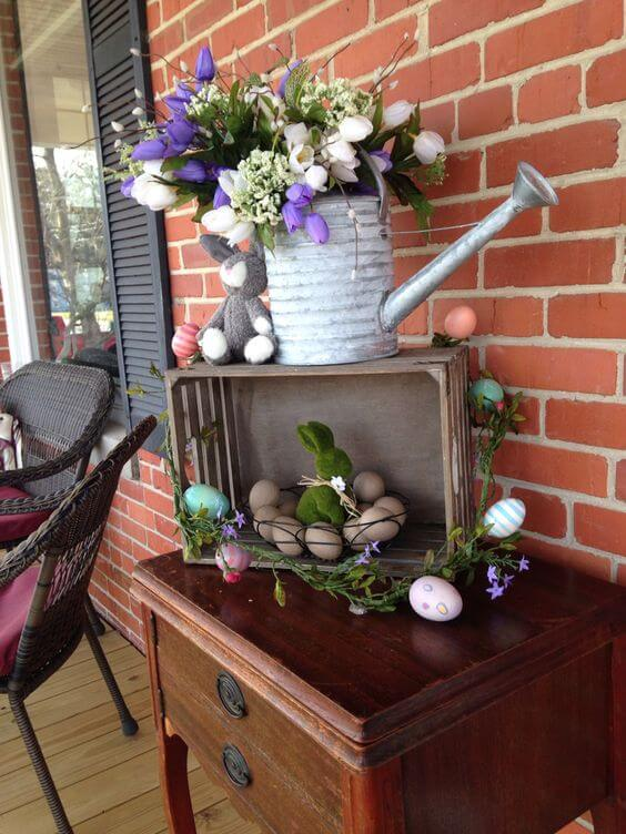 Adorable Easter Porch Decor | Best Easter Porch Decorating Ideas