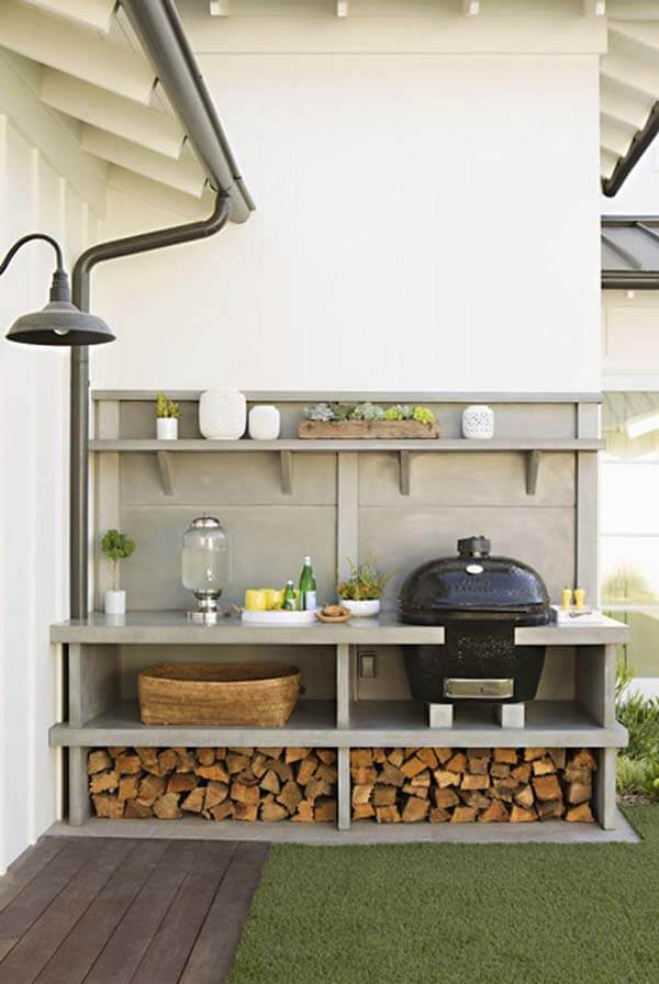 Modern Farmhouse Kitchen | DIY Outdoor Kitchen Ideas (Cheap, Simple, Modern, and Country)